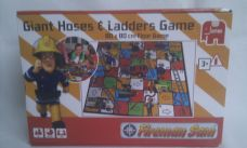 Adorable Gaint 'Fireman Sam' Hoses & Ladders Floor Game BNIB
